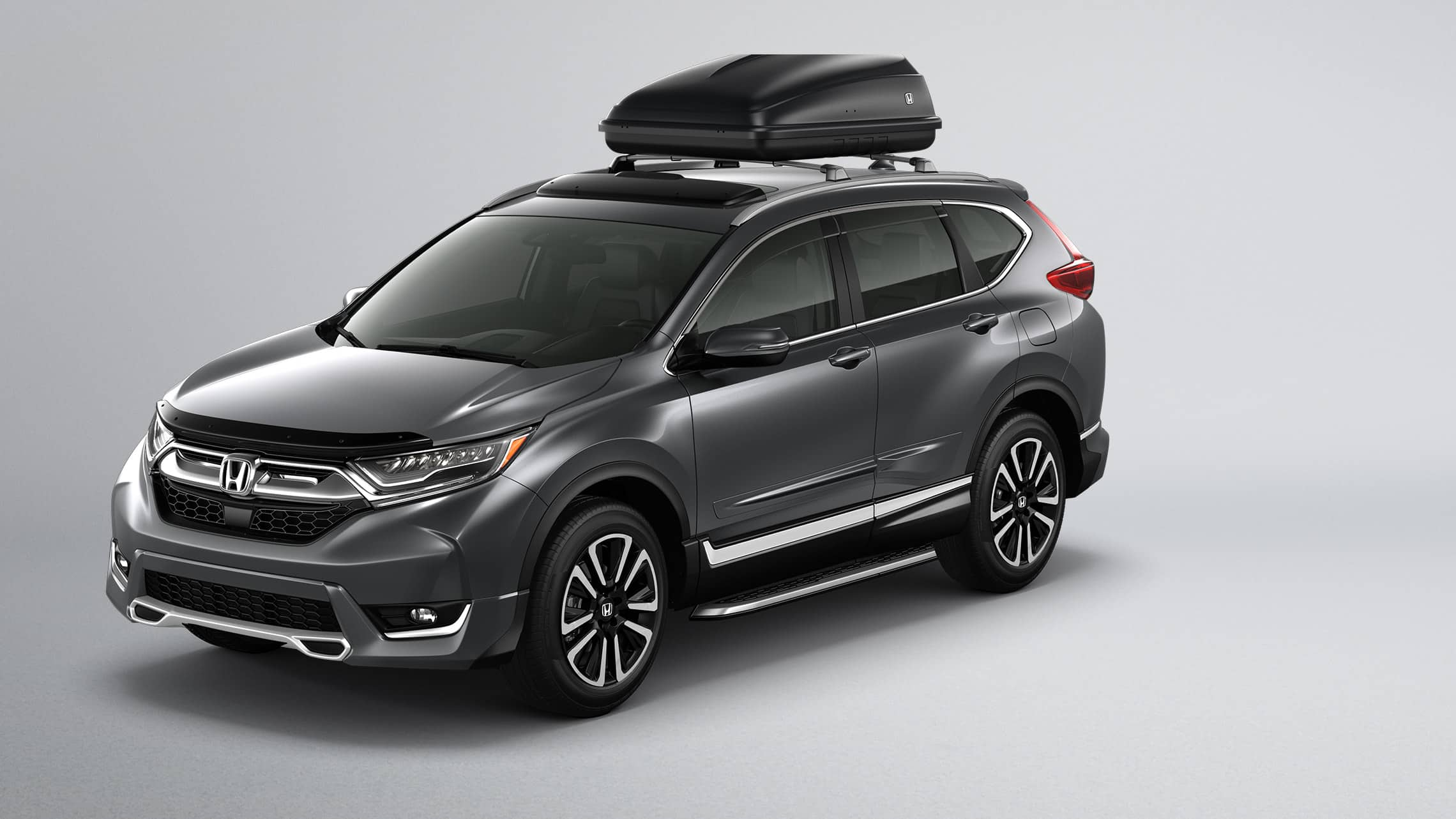 2019 Honda CR-V shown with Honda Genuine Accessories.